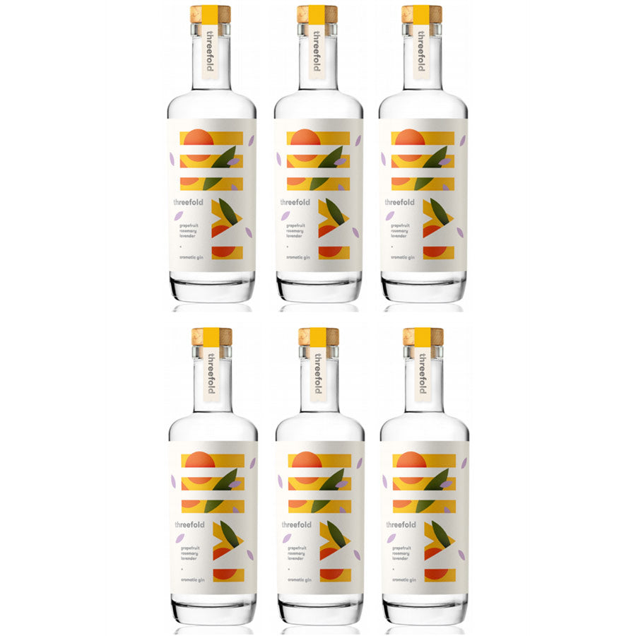 Threefold Aromatic Gin (6 pack)