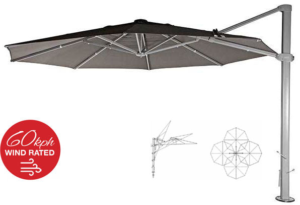 Elements Outdoor Living - Windrated Umbrellas