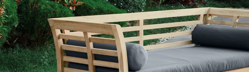 Elements Outdoor Living - Teak Outdoor Daybed