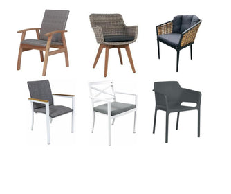 Elements Outdoor Living - Milan Wicker Cafe Chair