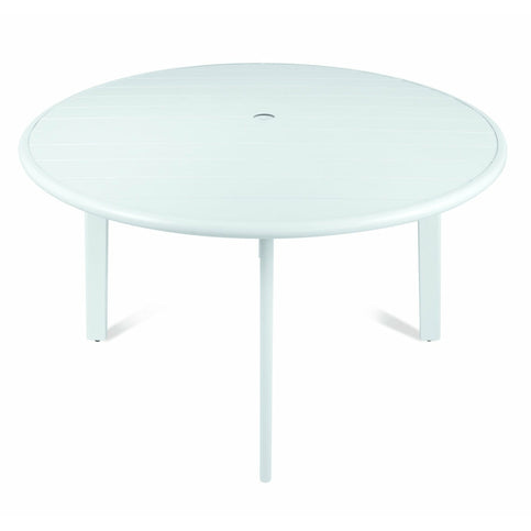 AVIGNON ROUND DINING TABLE 1.2M - WHITE