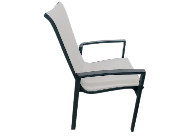 CASTELLA SLING CHAIR CHARCOAL/GREY