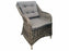 7 PCE MEMPHIS & CORINELLA WICKER - CHARCOAL