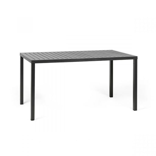 CUBE TABLE 1.4 X .80 - ANTHRACITE