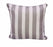 BAHAMAS STRIPE GREY OUTDOOR CUSHION