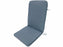 HI-BACK CUSHION ALPHA GREY OLEFIN