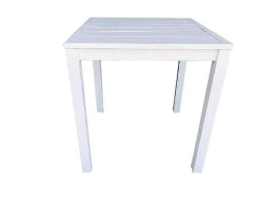 COMO DINING TABLE SHELL 70CM SQUARE