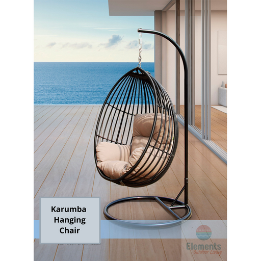 KARUMBA HANGING CHAIR BLACK