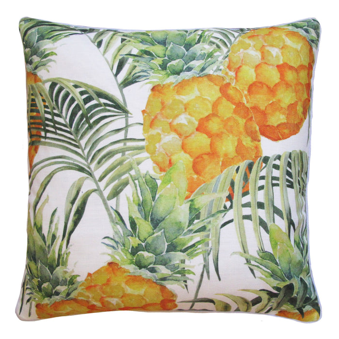 CABANA PINEAPPLE OUTDOOR CUSHION 50 X 50 GREEN