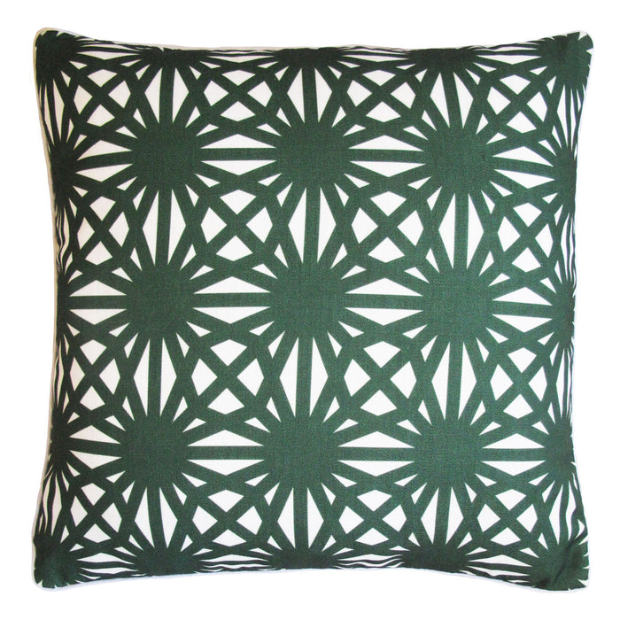 CABANA MOROCCO OUTDOOR CUSHION 50 X 50 GREEN