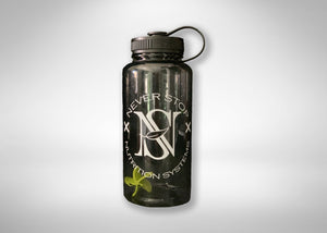 NSX Classic 36oz Water Bottle - Never Stop Nutrition Systems