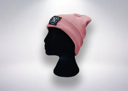 Limited Edition Pink Rose Beanie - Never Stop Nutrition Systems