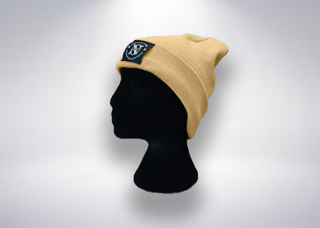 Womens Cuffed Beanies - Never Stop Nutrition Systems