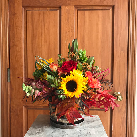 Large Fall Centerpiece