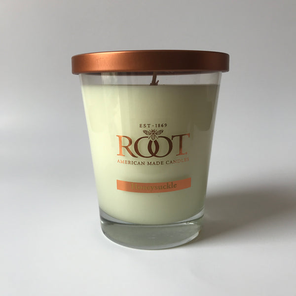 Root American Made Honeysuckle Candle
