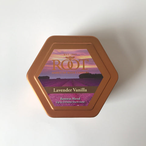 Root American Made Lavender Vanilla Traveler Candle
