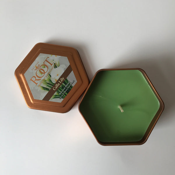 Calla Lily Honeycomb Traveler Candle