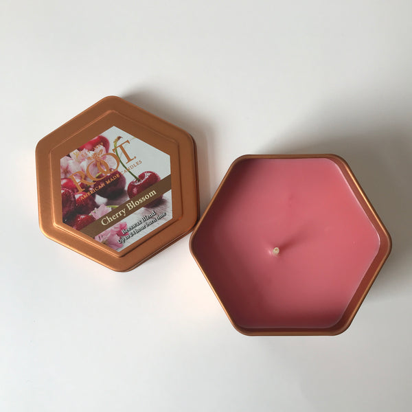 Cherry Blossom Honeycomb Traveler Candle