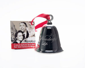 It's A Wonderful Life Silver Plated Keepsake Bell Ornament