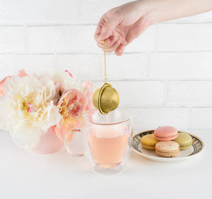 Small Tea Infuser Ball in Gold