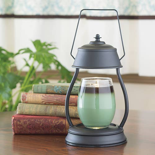 Black Hurricane Lantern