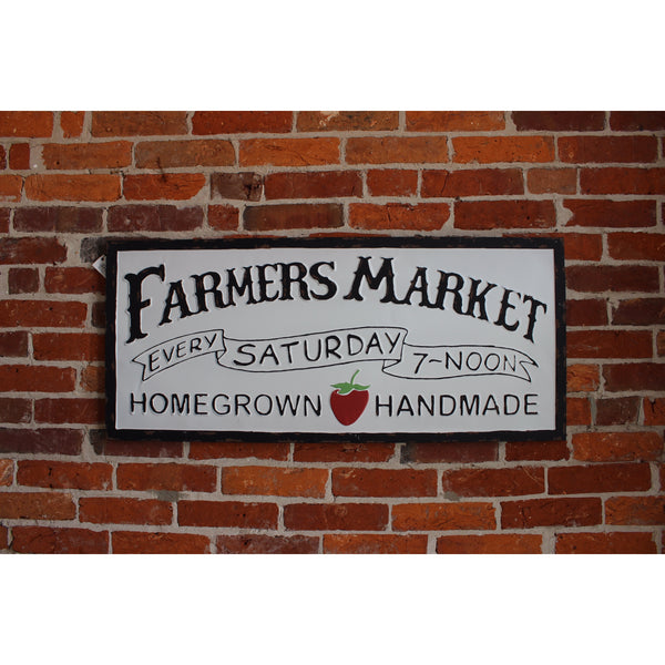 Farmer's Market Sign