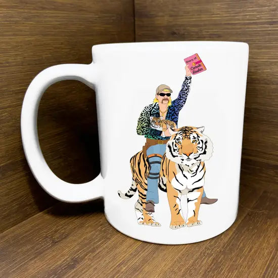 Joe Exotic Tiger King Mug Flashy Shirt