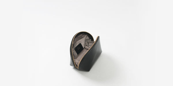 MRS STANFORD RECYCLED LEATHER COIN PURSE