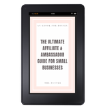 Affiliate & Ambassador Ebook [NEW!]