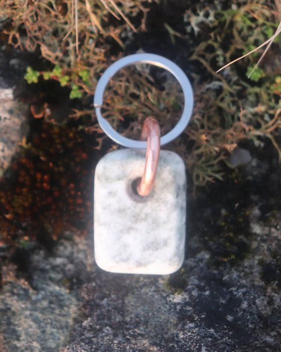 Scottish Marble Keyring - Small