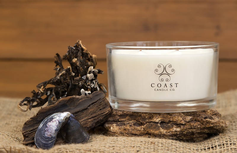 2-wick scented candle