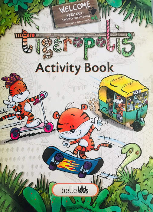Tigeropolis - Activity Book