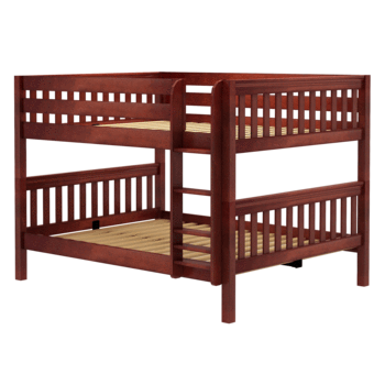 Slat Style Bunk Bed (with ladder)