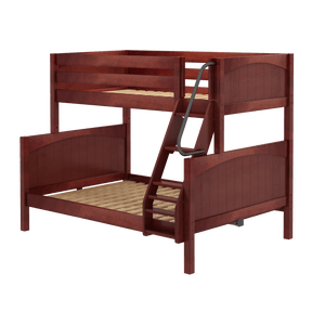 Panel Style Twin/Full Bunk Bed (with ladder)