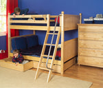 Load image into Gallery viewer, Panel Style Bunk Bed (with ladder)
