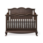 Load image into Gallery viewer, Romina Cleopatra Solid Back Convertible Crib