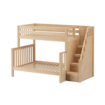 Load image into Gallery viewer, Twin/Full Bunk Bed (with stairs)