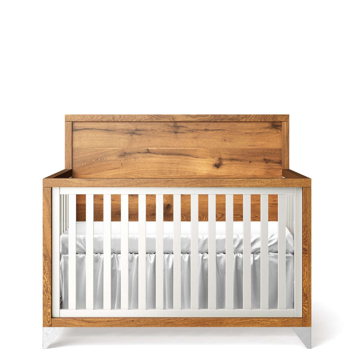 Romina Pandora Convertible Crib Oak Panel