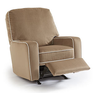 The Brixy Recliner offers a smooth & easy reclining feature with a hidden reclining handle. The chair is also available with a power option.