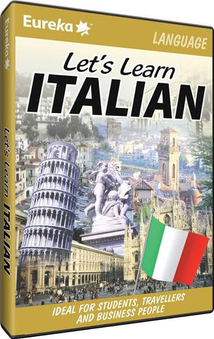 Eureka Let's Learn Italian - PC Games