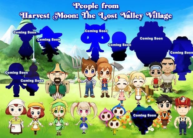 Harvest Moon: The Lost Valley - Nintendo 3DS