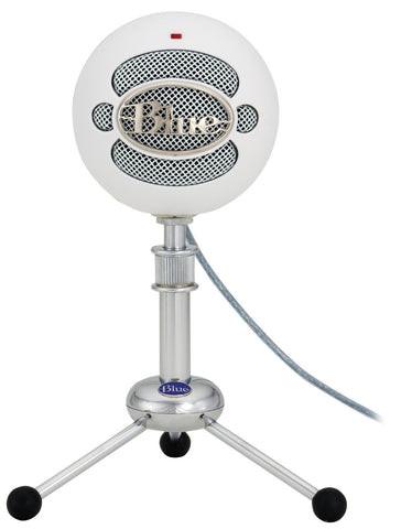 Blue Microphones Snowball USB Microphone (Textured White)
