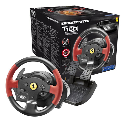 Thrustmaster T150 Ferrari Racing Wheel (PS3 & PS4) - PS4