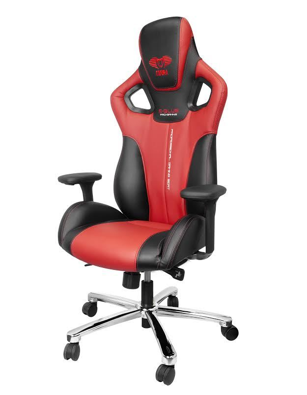 E-Blue Cobra Gaming Chair (Red)