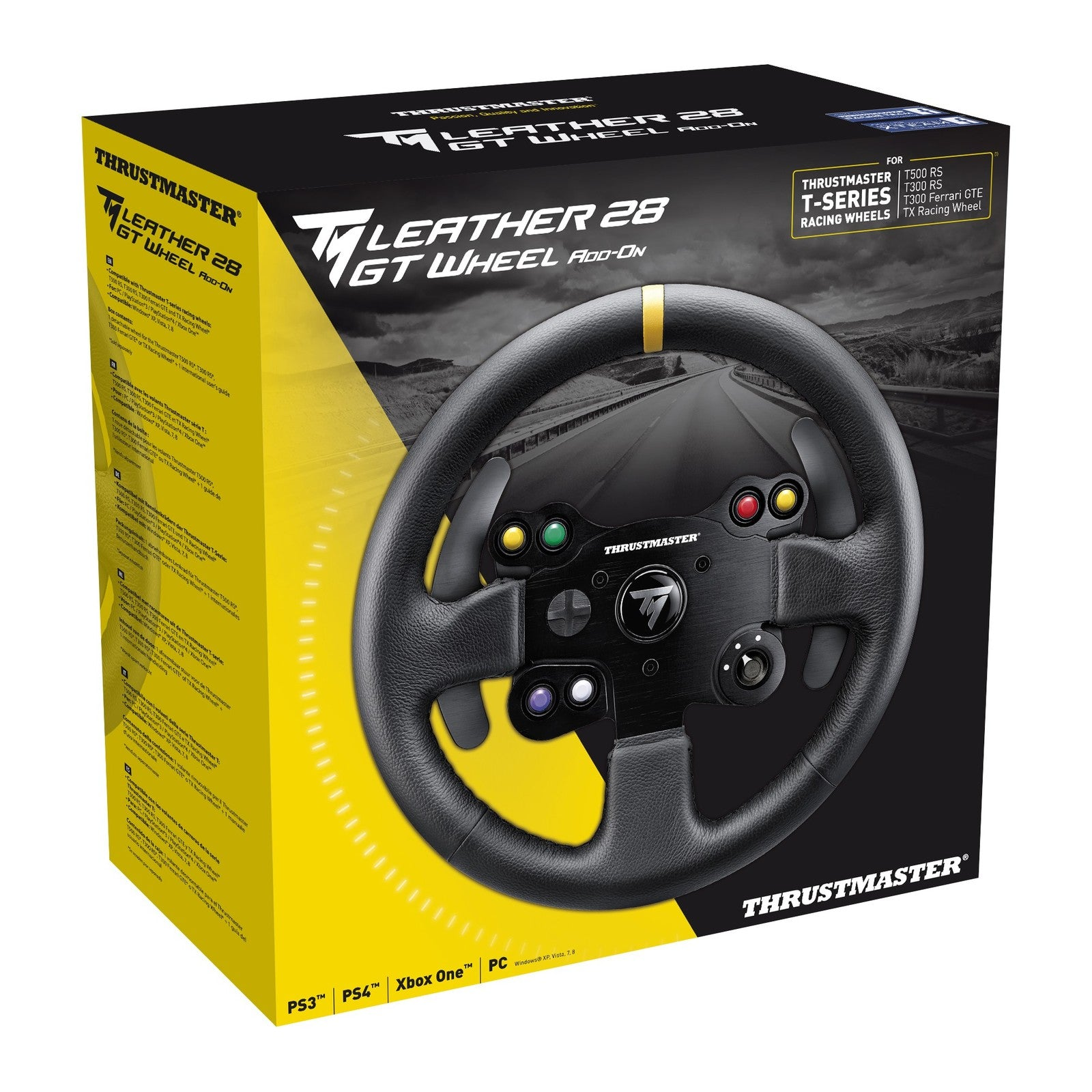 Thrustmaster TM Leather 28 GT Wheel Add-On (PS4, PS3, Xbox One & PC) - PS4
