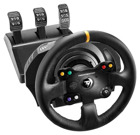 Thrustmaster TM Leather + T3PA Pedal Set (Xbox One & PC) - Xbox One
