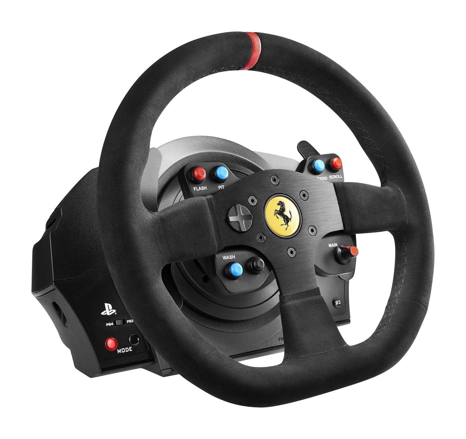 Thrustmaster VG T300 Ferrari Alcantara Edition Racing Wheel (PS3, PS4 & PC) - PS4