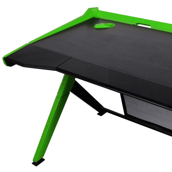DXRacer Gaming Desk (Black & Green)