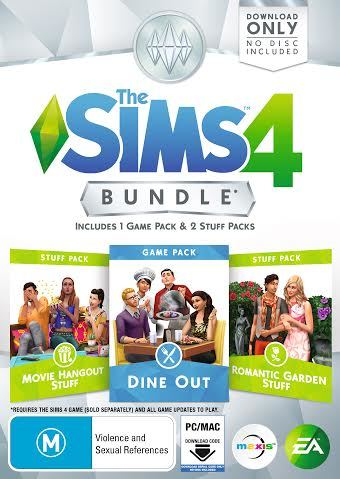 The Sims 4 Bundle Pack 5 (code in box) - PC Games