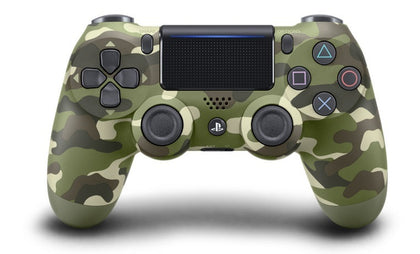 PlayStation 4 DualShock 4 v2 Wireless Controller - Green Camouflage - PS4